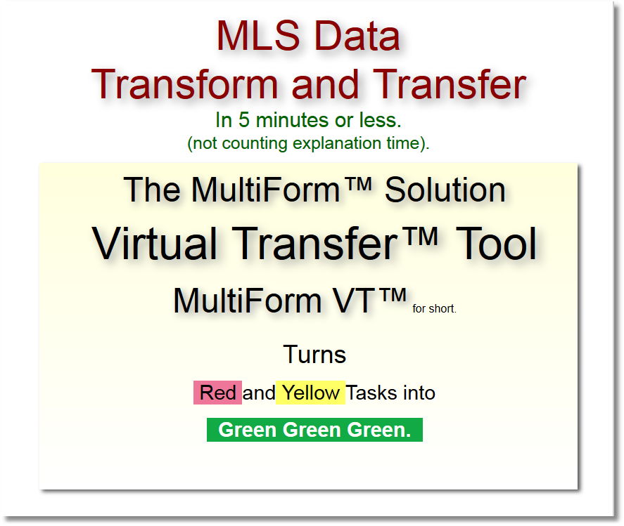 MLS Data Transfer